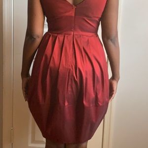 Suzi Chin Maggy Boutique Dresses - Gorgeous Ruby Red Cocktail Dress